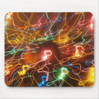 Psychedlic Electricity Mouse Pad