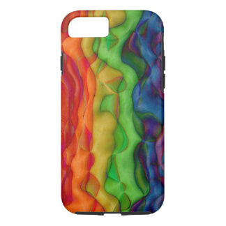 Psychedlic Hippy Rainbow Acid Trip iPhone 7 Case