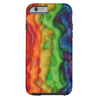 Psychedlic Hippy Rainbow Acid Trip Tough iPhone 6 Case