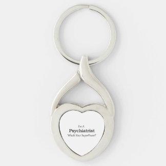 Psychiatrist Key Ring