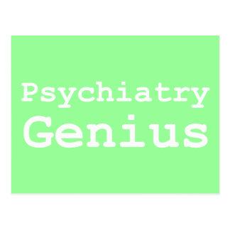 Psychiatry Genius Gifts Postcard