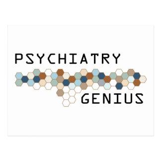 Psychiatry Genius Post Cards