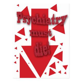 Psychiatry must die II Postcard