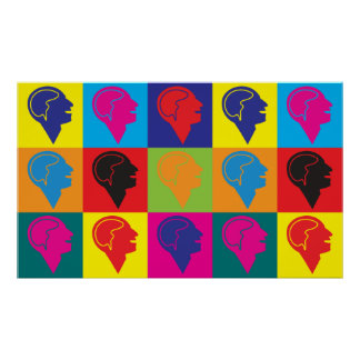 Psychiatry Pop Art Poster