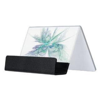 Psychic Energy Fractal Desk Business Card Holder