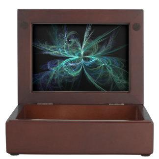 Psychic Energy Fractal Keepsake Box