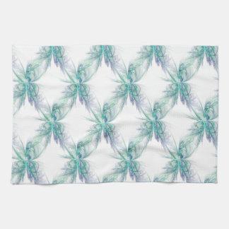Psychic Energy Fractal Tea Towel