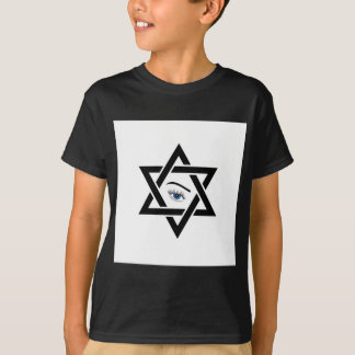 psychic eye within a star of David T-Shirt
