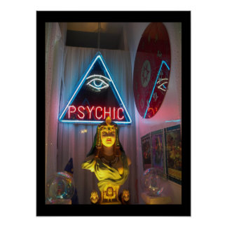 Psychic Fortune Telling Poster / Print Wall-art