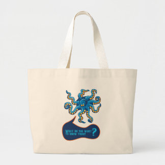 Psychic Octopus Canvas Bags
