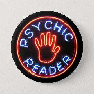 Psychic Reader Neon Sign 7.5 Cm Round Badge