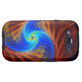 Psycho Abstract Fracta Artwork Galaxy SIII Case