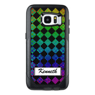 Psycho Checkers by Kenneth Yoncich OtterBox Samsung Galaxy S7 Edge Case