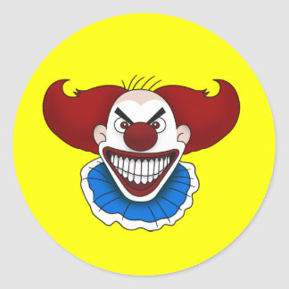 Psycho Clown Stickers