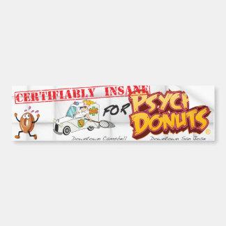 Psycho Donuts Bumper Sticker