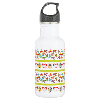 Psycho Easter Pattern colorful 532 Ml Water Bottle