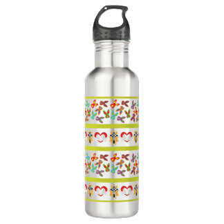 Psycho Easter Pattern colorful 710 Ml Water Bottle