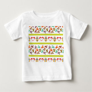 Psycho Easter Pattern colorful Baby T-Shirt