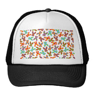 Psycho Easter Pattern colorful Cap