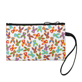 Psycho Easter Pattern colorful Coin Purse