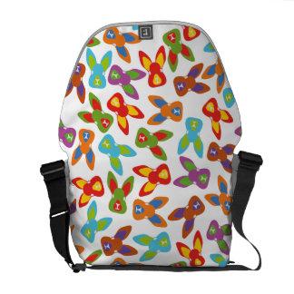 Psycho Easter Pattern colorful Commuter Bag
