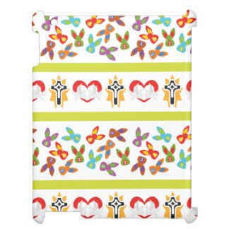 Psycho Easter Pattern colorful Cover For The iPad