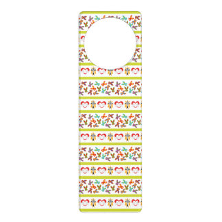 Psycho Easter Pattern colorful Door Hanger