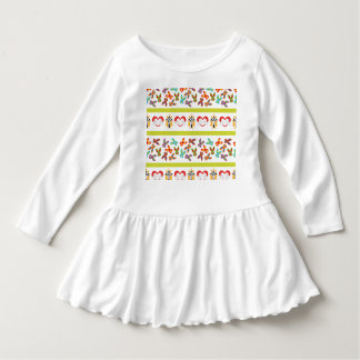 Psycho Easter Pattern colorful Dress