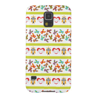 Psycho Easter Pattern colorful Galaxy S5 Covers