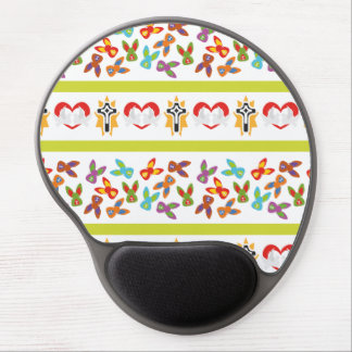 Psycho Easter Pattern colorful Gel Mouse Pad