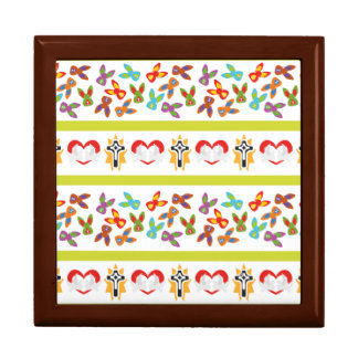 Psycho Easter Pattern colorful Gift Box