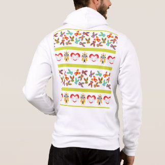 Psycho Easter Pattern colorful Hoodie