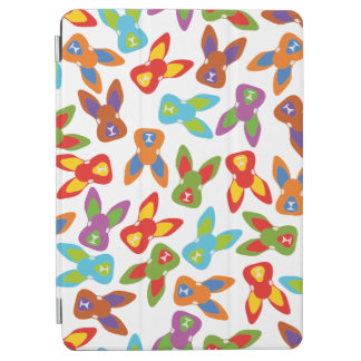 Psycho Easter Pattern colorful iPad Air Cover