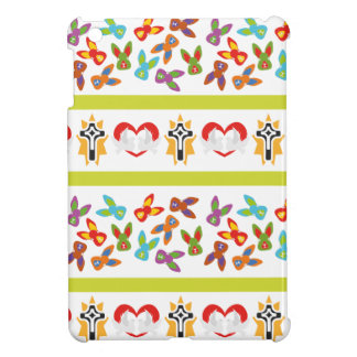 Psycho Easter Pattern colorful iPad Mini Cover