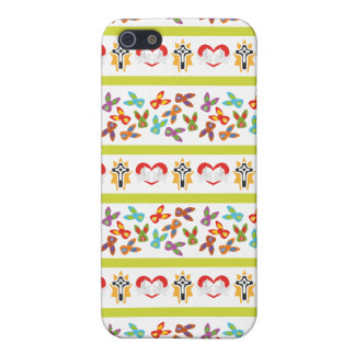 Psycho Easter Pattern colorful iPhone 5 Cover