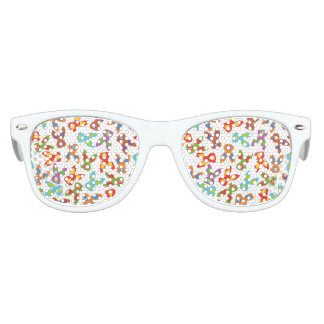 Psycho Easter Pattern colorful Kids Sunglasses