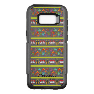 Psycho Easter Pattern colorful OtterBox Commuter Samsung Galaxy S8+ Case
