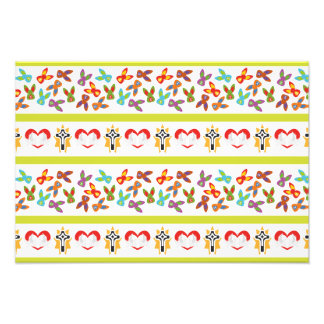 Psycho Easter Pattern colorful Photo