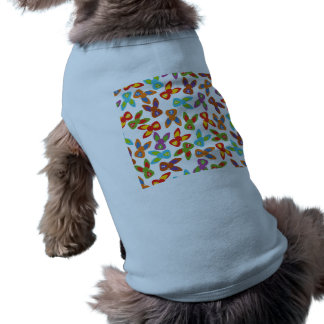 Psycho Easter Pattern colorful Shirt