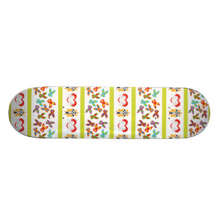 Psycho Easter Pattern colorful Skateboard Deck