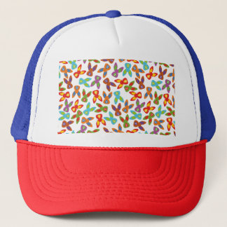 Psycho Easter Pattern colorful Trucker Hat