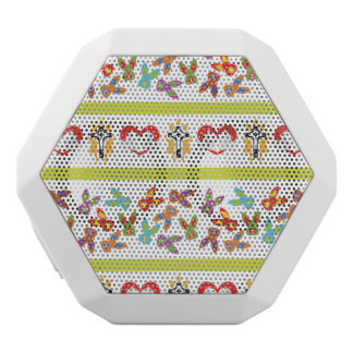 Psycho Easter Pattern colorful White Bluetooth Speaker