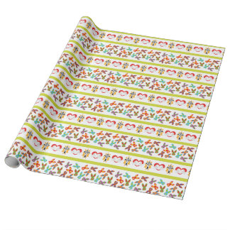 Psycho Easter Pattern colorful Wrapping Paper