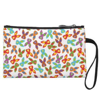 Psycho Easter Pattern colorful Wristlet