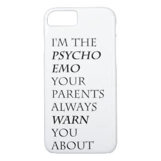 Psycho Emo iPhone 8/7 Case