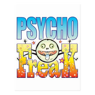 Psycho Freaky Freak Postcard
