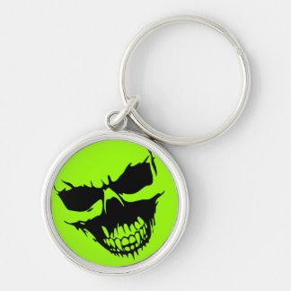 Psycho Horror Skull Key Chain
