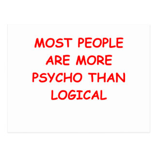 psycho logical postcard