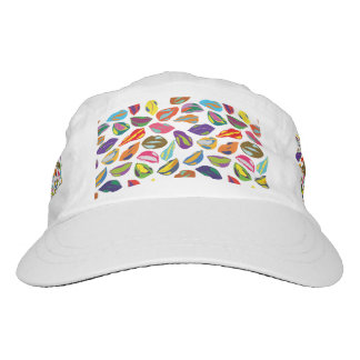 Psycho retro colorful pattern Lips Hat