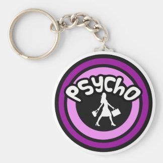 Psycho Shopper Key Ring